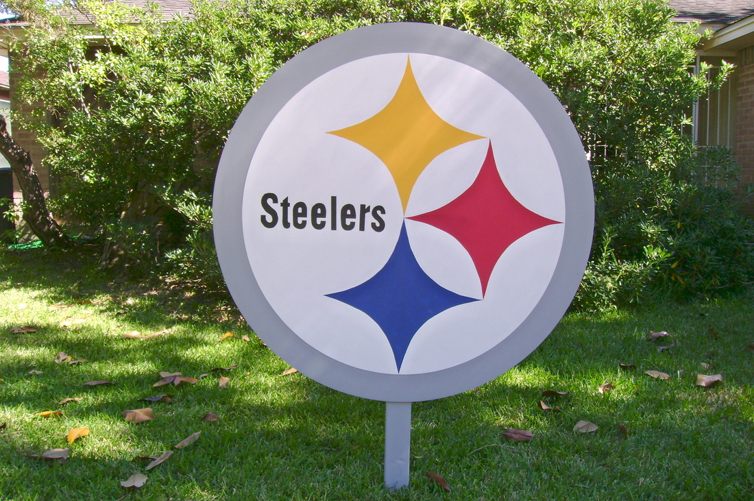 Pittsburgh Steelers Yard Sign Yard Art And Signs Made To