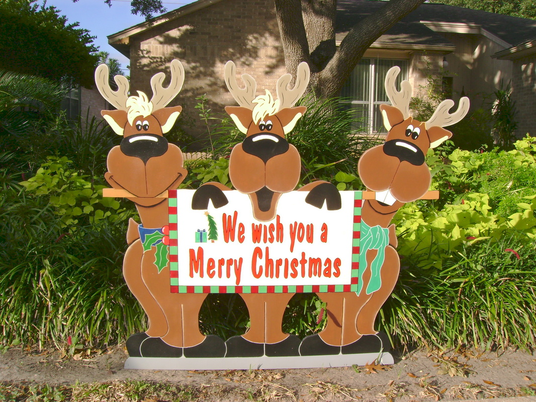 Large Christmas Lawn Decorations