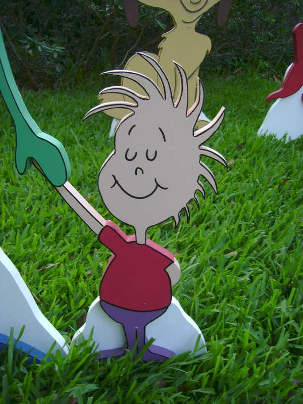 Whoville Village Family Yard Art Custom Made To Order By